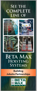 Beta Max Hoist Tradeshow Banner
