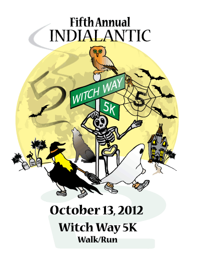 Fifth Annual Indialantic Witch Way 5K